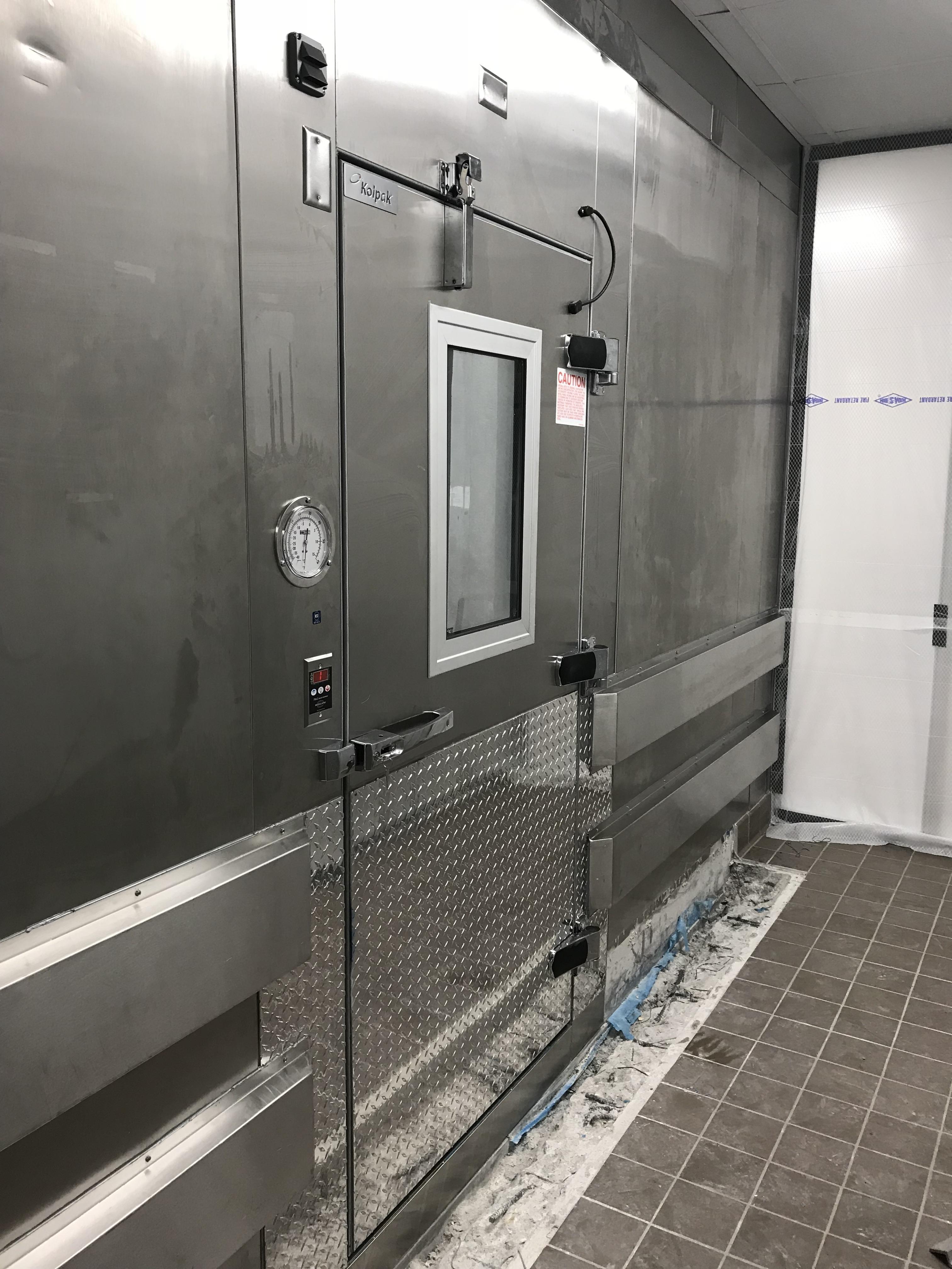 Walk In Cooler Freezer Door Replacement At Fort Bend 48 School
